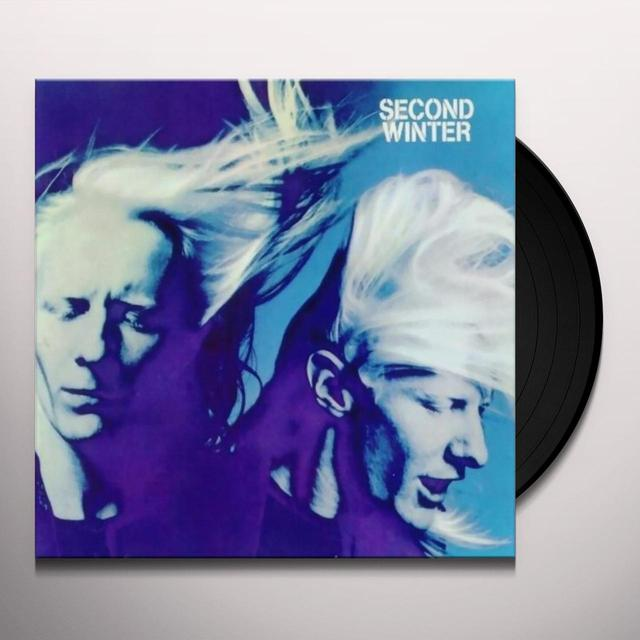 Johnny Winter SECOND WINTER Vinyl Record - Limited Edition, 180 Gram Pressing