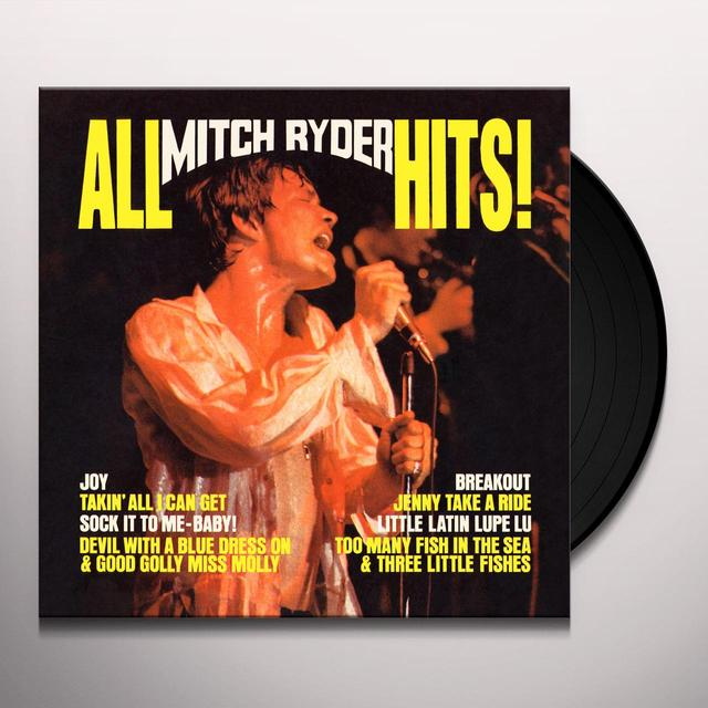 ALL MITCH RYDER HITS Vinyl Record