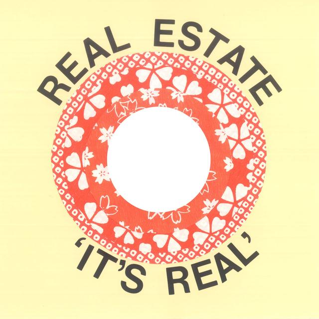 Real Estate IT'S REAL Vinyl Record - Limited Edition
