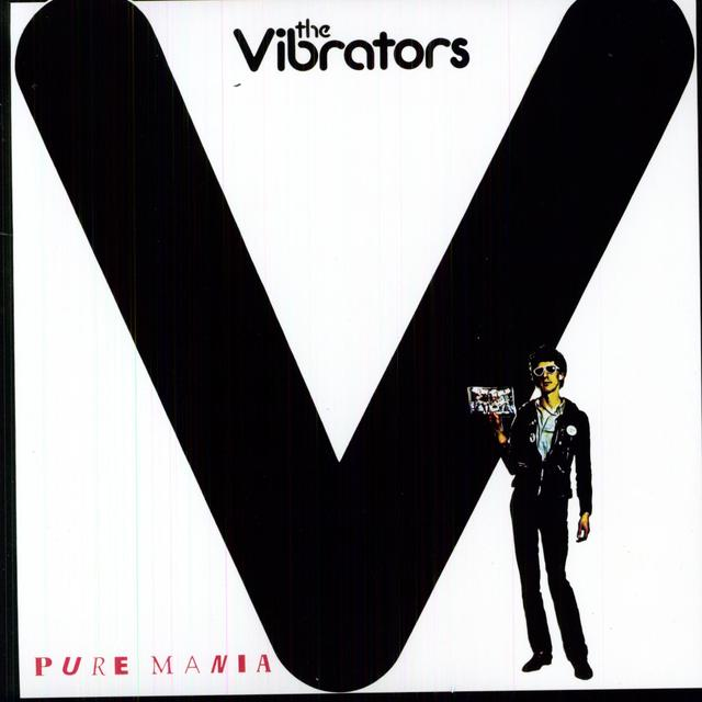 The Vibrators PURE MANIA Vinyl Record