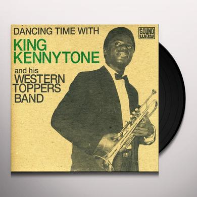 King Kennytone DANCING TIME WITH (EP) Vinyl Record