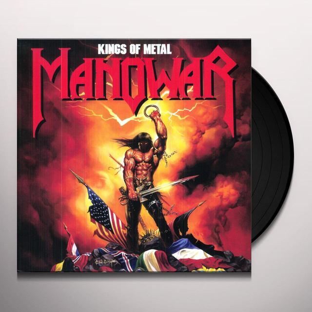 Manowar KINGS OF METAL Vinyl Record