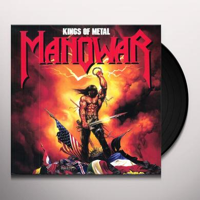 Manowar KINGS OF METAL Vinyl Record