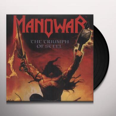 Manowar TRIUMPH OF STEEL Vinyl Record