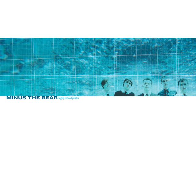 Minus The Bear HIGHLY REFINED PIRATES Vinyl Record - Remastered, Digital Download Included