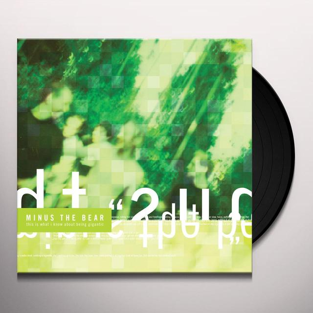Minus The Bear THIS IS WHAT I KNOW ABOUT BEING GIGANTIC Vinyl Record - Remastered