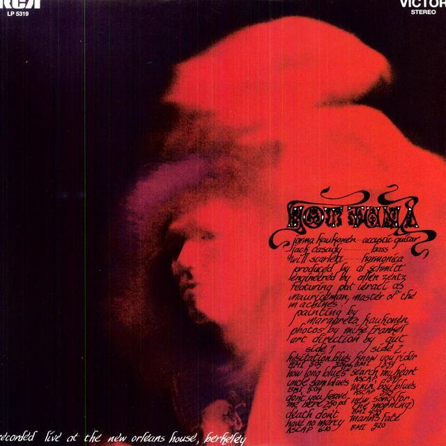HOT TUNA Vinyl Record