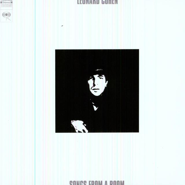 Leonard Cohen SONGS FROM A ROOM Vinyl Record - Holland Release