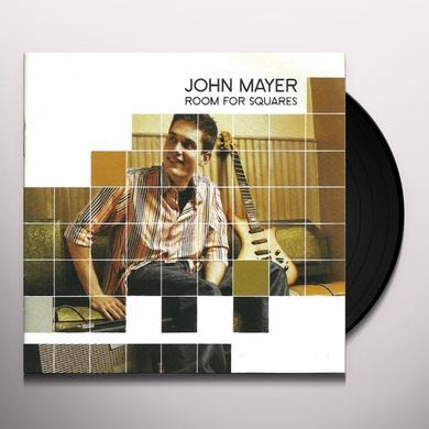 John Mayer ROOM FOR SQUARES Vinyl Record - 180 Gram Pressing