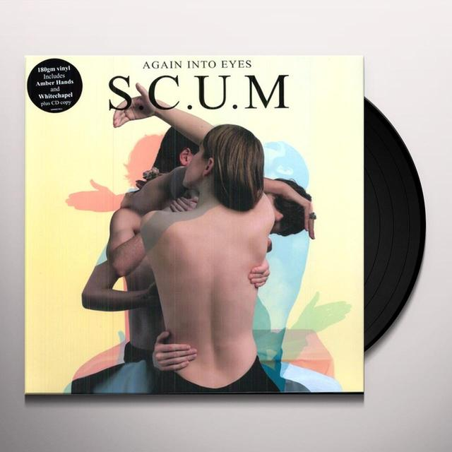 Scum AGAIN INTO EYES (BONUS CD) Vinyl Record - 180 Gram Pressing
