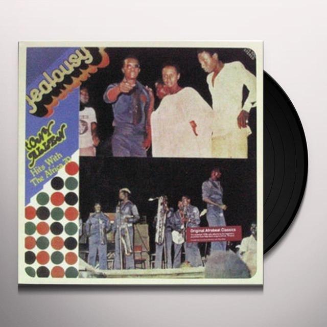 Tony Allen JEALOUSY Vinyl Record - Remastered, Reissue