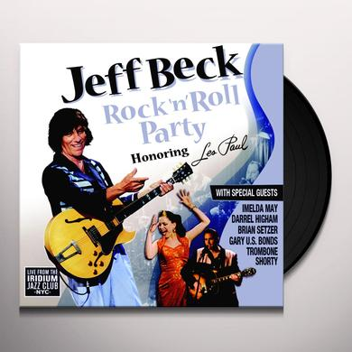Jeff Beck ROCK N ROLL PARTY: HONORING LES PAUL Vinyl Record - Limited Edition, 180 Gram Pressing
