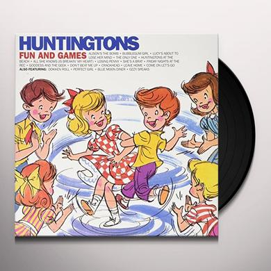 Huntingtons FUN & GAMES Vinyl Record - Limited Edition
