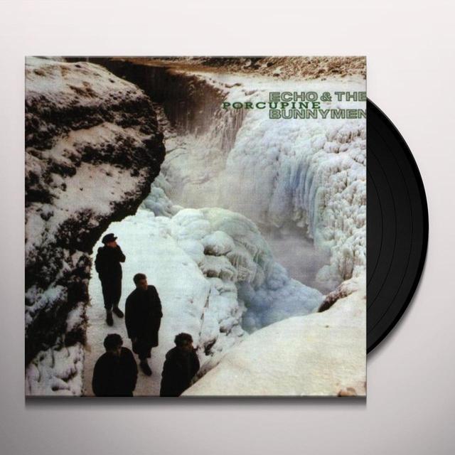 Echo & the Bunnymen PORCUPINE Vinyl Record - Reissue