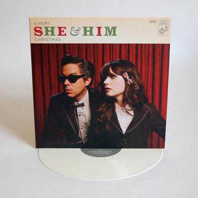 VERY SHE & HIM CHRISTMAS Vinyl Record