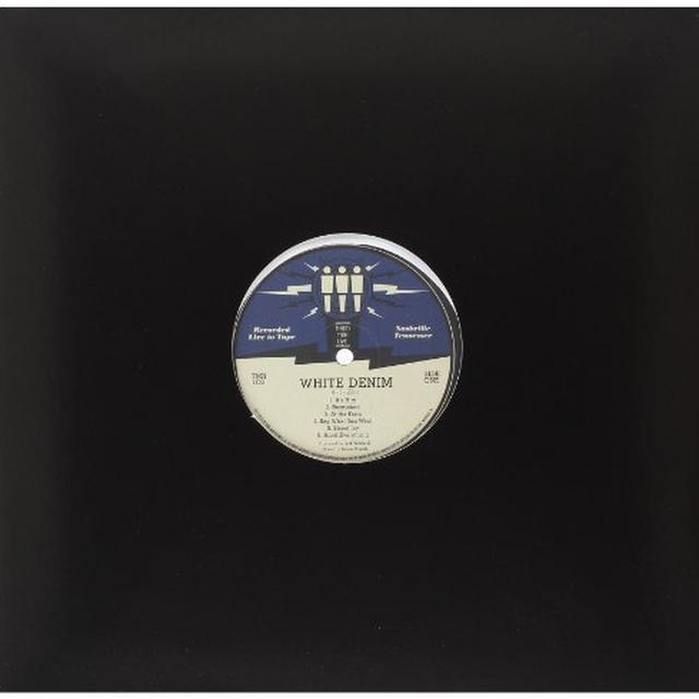 White Denim THIRD MAN LIVE 04-01-2011 Vinyl Record