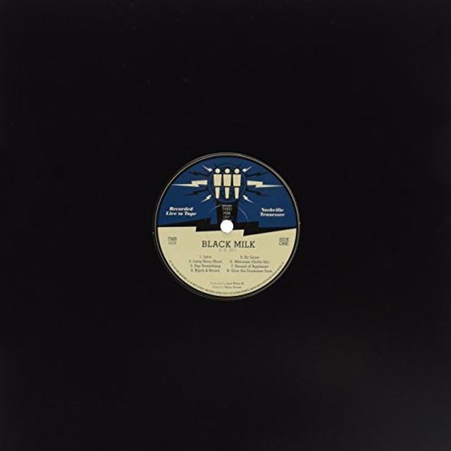 Black Milk THIRD MAN LIVE 04-08-2011 Vinyl Record