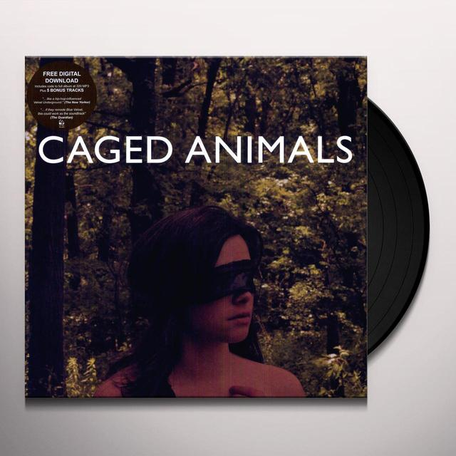 Caged Animals EAT THEIR OWN (BONUS TRACKS) Vinyl Record - Digital Download Included