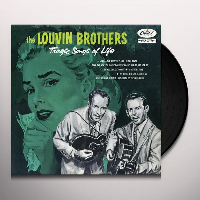 Louvin Brothers TRAGIC SONGS OF LIFE Vinyl Record