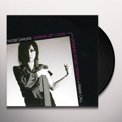 Those Darlins SCREWS GET LOOSE / PRANK CALL Vinyl Record