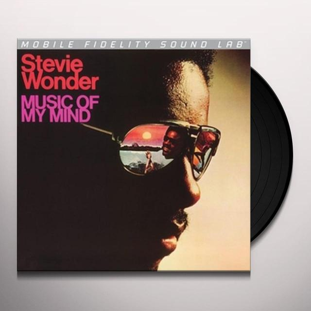 Stevie Wonder MUSIC OF MY MIND Vinyl Record - Limited Edition