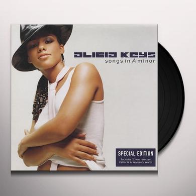 Alicia Keys SONGS IN A MINOR Vinyl Record - 180 Gram Pressing