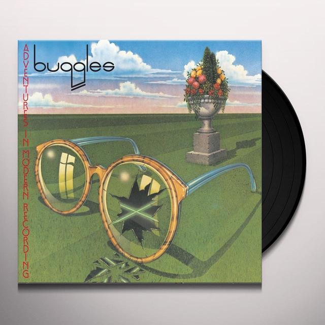 Buggles ADVENTURES IN MODERN RECORDING Vinyl Record - Holland Release