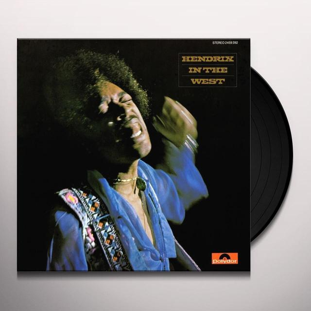 Jimi Hendrix HENDRIX IN THE WEST Vinyl Record - 180 Gram Pressing