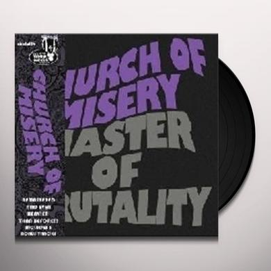 Church Of Misery MASTER OF BRUTALITY Vinyl Record - Holland Import