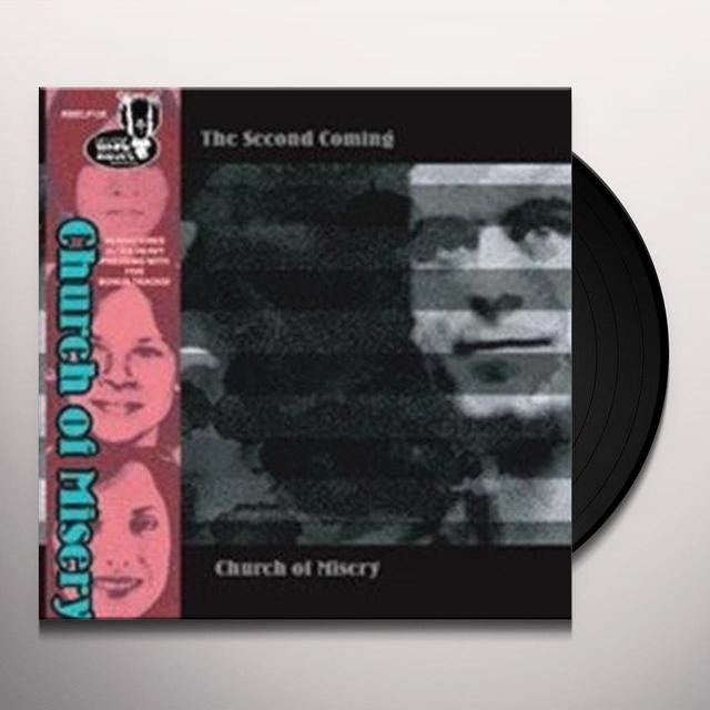 Church Of Misery SECOND COMING Vinyl Record