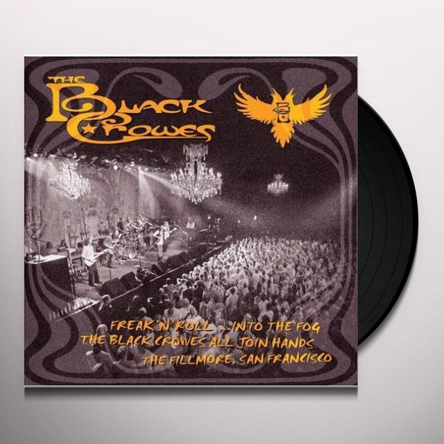 Black Crowes FREAK N ROLL INTO THE FOG Vinyl Record - 180 Gram Pressing