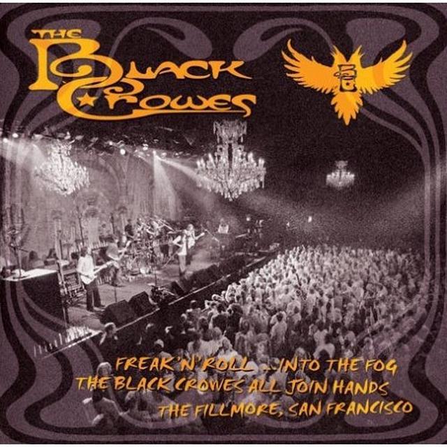 Black Crowes FREAK N ROLL INTO THE FOG Vinyl Record - 180 Gram Pressing
