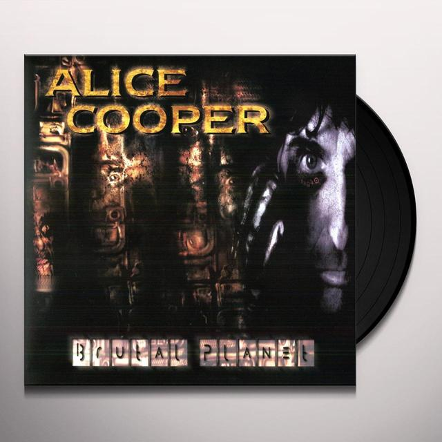 Alice Cooper BRUTAL PLANET Vinyl Record - 180 Gram Pressing