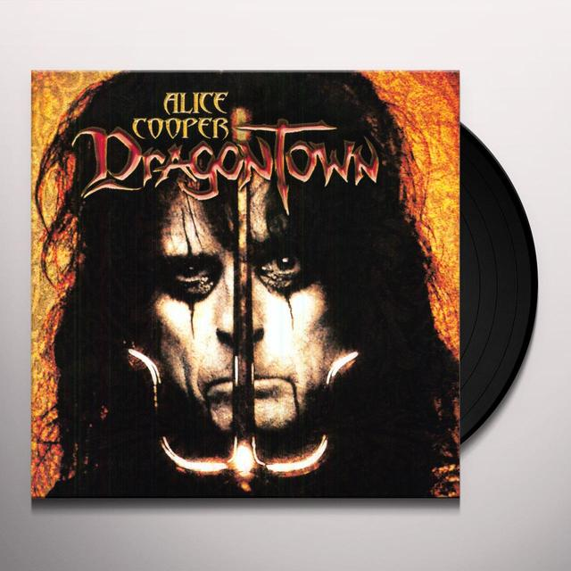 Alice Cooper DRAGON TOWN Vinyl Record - 180 Gram Pressing