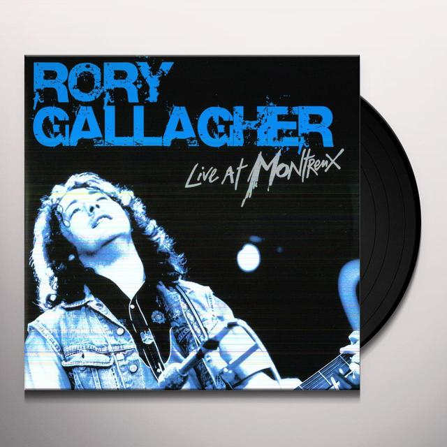 Rory Gallagher LIVE IN MONTREUX Vinyl Record - 180 Gram Pressing