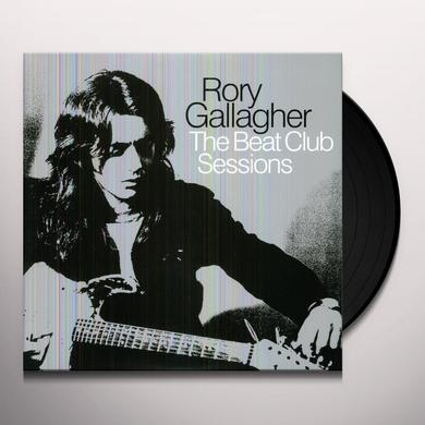 Rory Gallagher BEAT CLUB SESSIONS Vinyl Record - 180 Gram Pressing