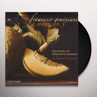 Geminiani 4 SONATE OP 5 Vinyl Record