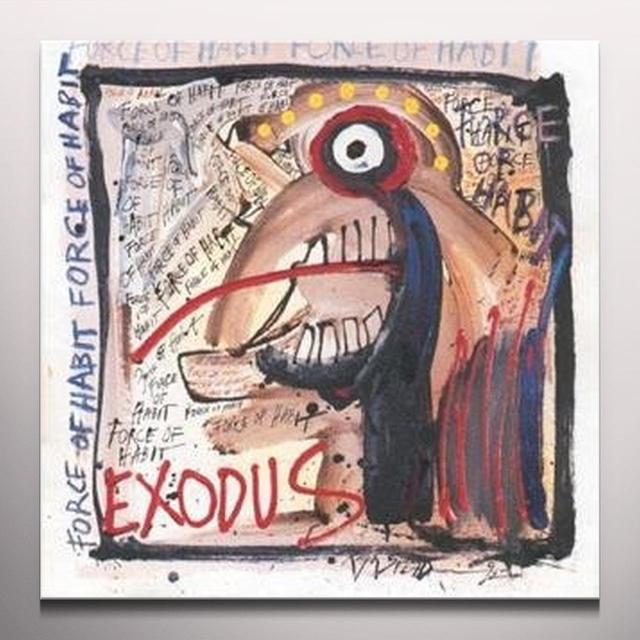 Exodus FORCE OF HABIT Vinyl Record - Colored Vinyl, Limited Edition, 180 Gram Pressing, White Vinyl