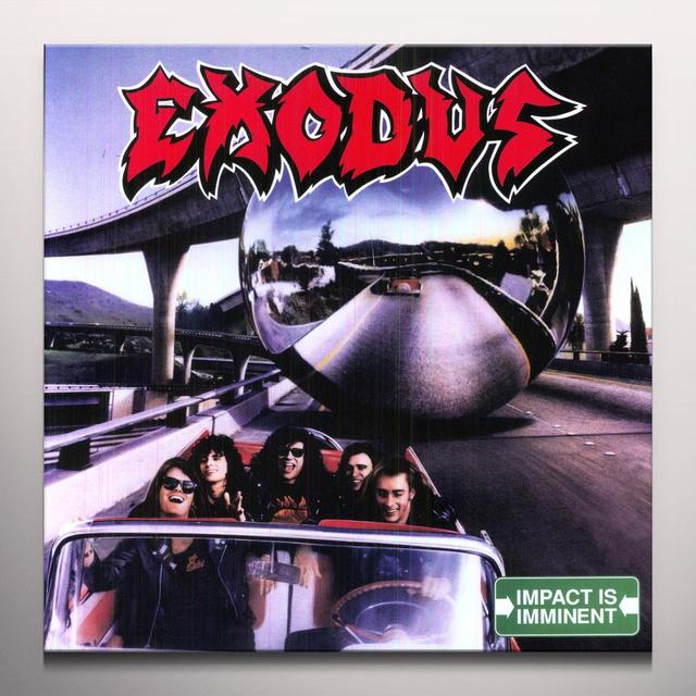 Exodus IMPACT IS IMMINENT Vinyl Record - Blue Vinyl, Colored Vinyl, Limited Edition, 180 Gram Pressing