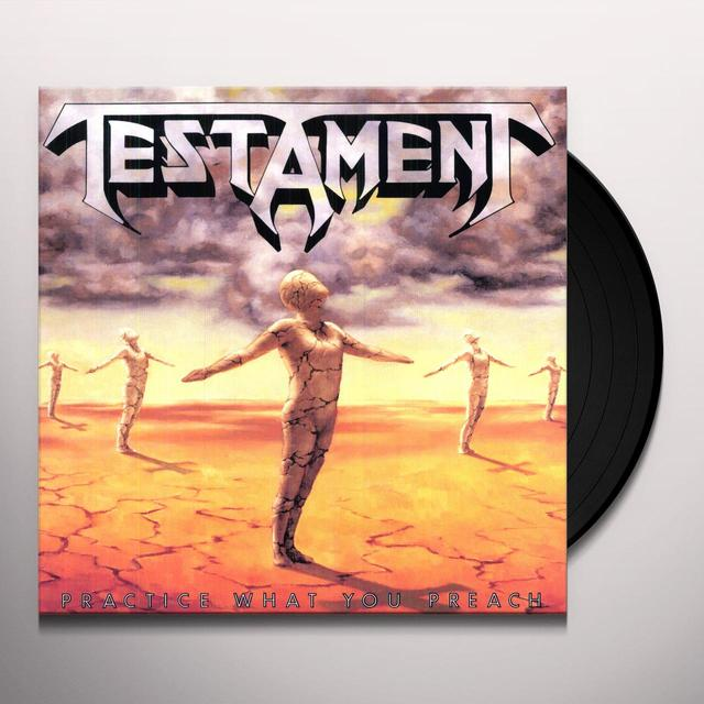 Testament PRACTICE WHAT YOU PREACH Vinyl Record