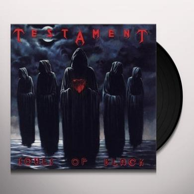 Testament SOULS OF BLACK Vinyl Record