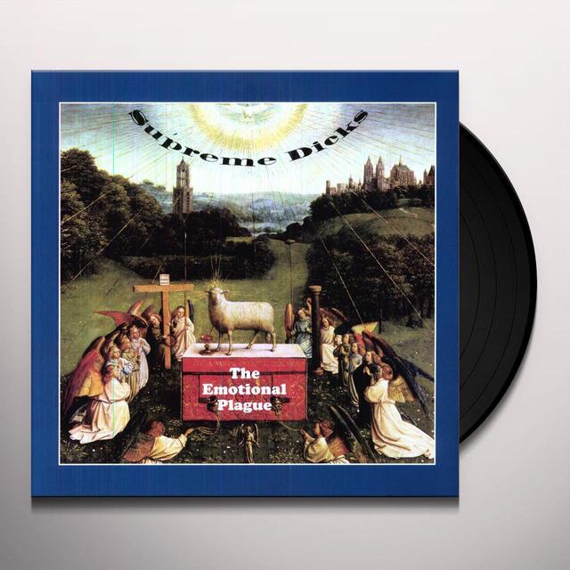 Supreme Dicks EMOTIONAL PLAGUE Vinyl Record