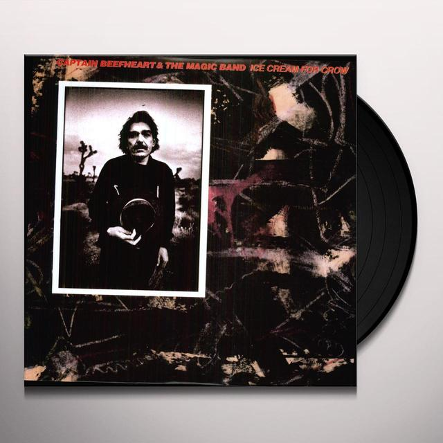 Captain Beefheart & His Magic Band ICE CREAM FOR CROW Vinyl Record
