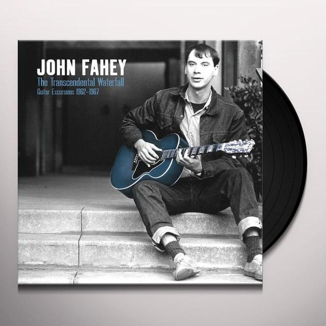 John Fahey TRANSCENDENTAL WATERFALL Vinyl Record - Limited Edition, 180 Gram Pressing