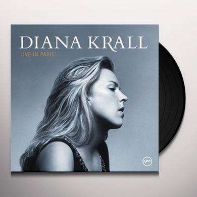 Diana Krall LIVE IN PARIS Vinyl Record - Gatefold Sleeve, Limited Edition, 180 Gram Pressing, Reissue