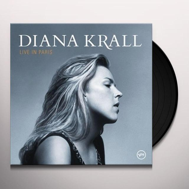 Diana Krall LIVE IN PARIS Vinyl Record - Gatefold Sleeve, Limited Edition, 180 Gram Pressing, Reissue