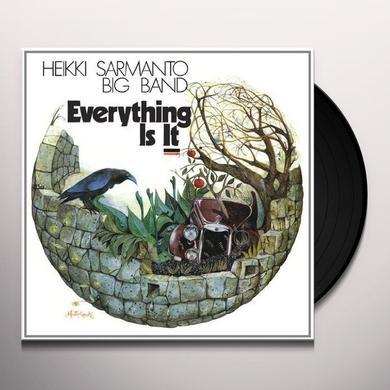 Heikki Sarmanto EVERYTHING IS IT Vinyl Record