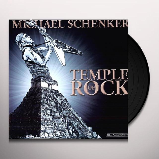 Michael Schenker TEMPLE OF ROCK Vinyl Record