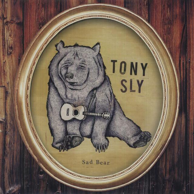 Tony Sly SAD BEAR Vinyl Record