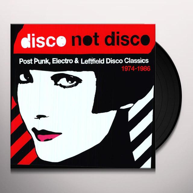 DISCO NOT DISCO POST PUNK ELECTRO & 1974-86 / VAR (Vinyl)